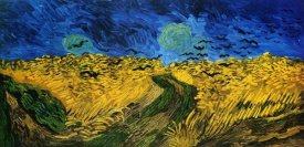 Vincent Van Gogh - Crows Over Wheat Field