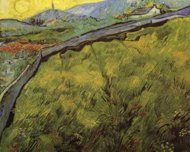 Vincent Van Gogh - Field Of Spring Wheat At Sunrise