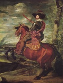 Diego Velazquez - Equestrian Portrait Of The Count Duke Of Olivares