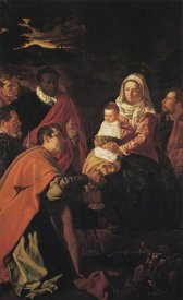 Diego Velazquez - The Adoration Of The Magi