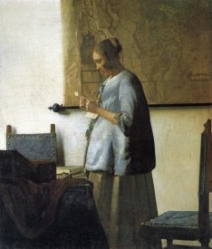 Johannes Vermeer - Lady In Blue