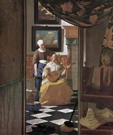 Johannes Vermeer - The Love Letter