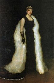 James McNeill Whistler - Arrangement In Black Lady Meux 1881