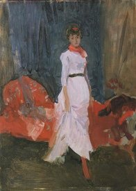 James McNeill Whistler - Arrangement In Pink Red And Purple 1883