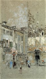 James McNeill Whistler - Campanile Santa Margharita 1880