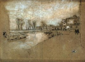 James McNeill Whistler - Campo Sta Martin Winter Evening