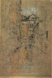 James McNeill Whistler - Canal 1879