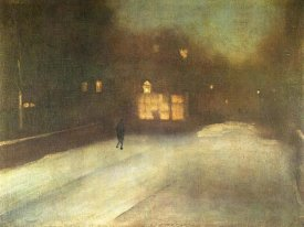 James McNeill Whistler - Cheslea Snow