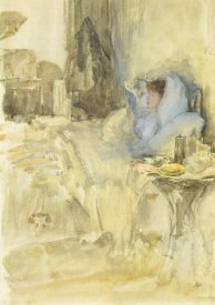James McNeill Whistler - Convalescent Or Petit Dejeuner Note In Opal 1883