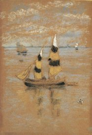 James McNeill Whistler - Fishing Boats 1880