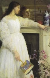 James McNeill Whistler - Girl In White