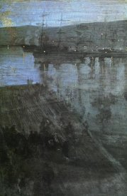 James McNeill Whistler - Nocturne