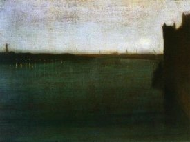 James McNeill Whistler - Nocturne Grey And Gold Westminster Bridge 1871