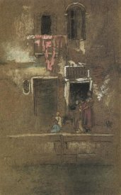 James McNeill Whistler - Note In Pink And Brown 1880