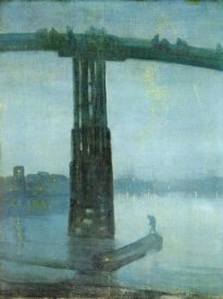 James McNeill Whistler - Old Battersea Bridge