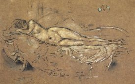 James McNeill Whistler - Reclining Nude 1900