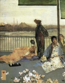 James McNeill Whistler - The Balcony 1864