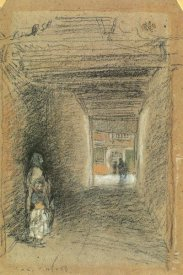 James McNeill Whistler - The Beggars Winter 1879