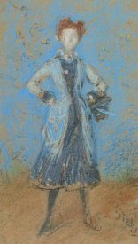 James McNeill Whistler - The Blue Girl 1872