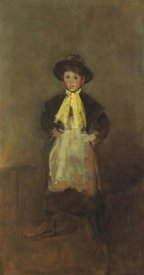 James McNeill Whistler - The Chelsea Girl 1884