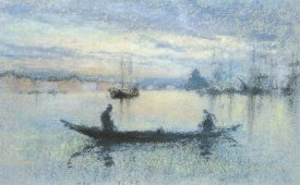 James McNeill Whistler - The Guidecca Note In Flesh Color