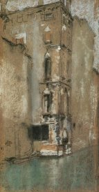 James McNeill Whistler - The Old Marble Palace 1880