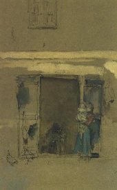 James McNeill Whistler - The Open Door 1901
