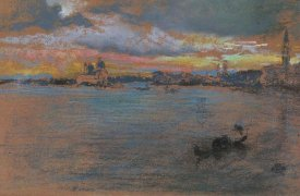 James McNeill Whistler - The Storm Sunset 1879