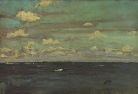 James McNeill Whistler - Violet And Silver A Deep Sea 1893