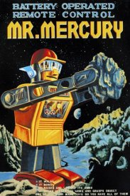 Retrobot - Battery Operated Remote Control Mr. Mercury