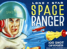 Retrobot - Lone Star Space Ranger 100 Shot Cap Repeater