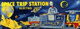 Retrobot - Space Trip Station Electro Toy
