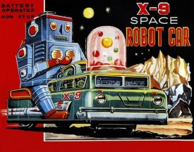 Retrobot - X-9 Space Robot Car
