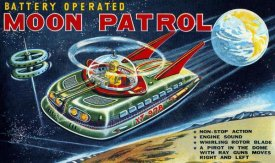 Retrobot - Battery Operated Moon Patrol XT-978