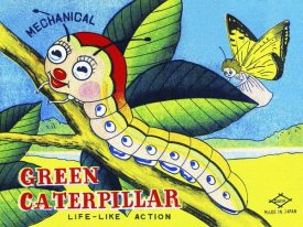 Retrobot - Mechanical Green Caterpillar