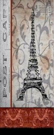 Karen J. Williams - Paris Postcard Panel