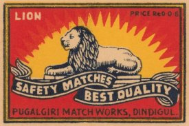 Phillumenart - Lion Safety Matches Best Quality