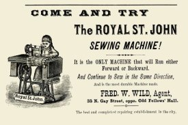 Unknown - The Royal St. John Sewing Machine