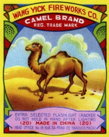 Unknown - Wang Yick Fireworks Camel Brand