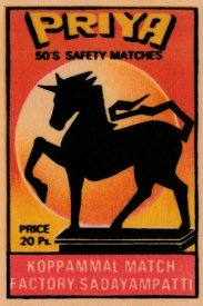 Phillumenart - Priya 50's Safety Matches