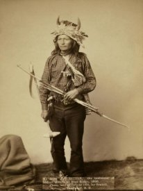 John C.H. Grabill - Little, the instigator of Indian Revolt at Pine Ridge, 1890 II