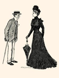 Charles Dana Gibson - How Long Should I wear Mourning