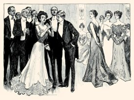 Charles Dana Gibson - The Race is Not Always to the Beautiful
