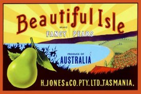 Unknown - Beautiful Isle Brand Fancy Pears
