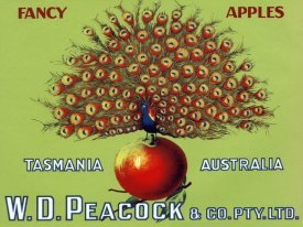 Retrolabel - W.D. Peacock Fancy Apples