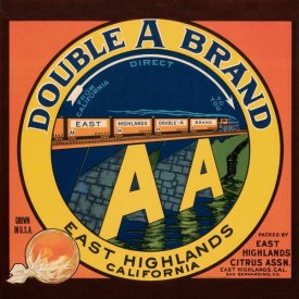 Western Litho. - Double A Brand Oranges