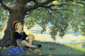 Jesse Willcox Smith - Boy Under an Apple Tree