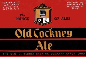 Vintage Booze Labels - Old Cockney Ale