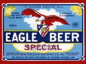 Vintage Booze Labels - Eagle Beer Special