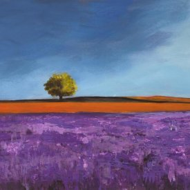 Philip Bloom - Field of Lavender (Left Detail)